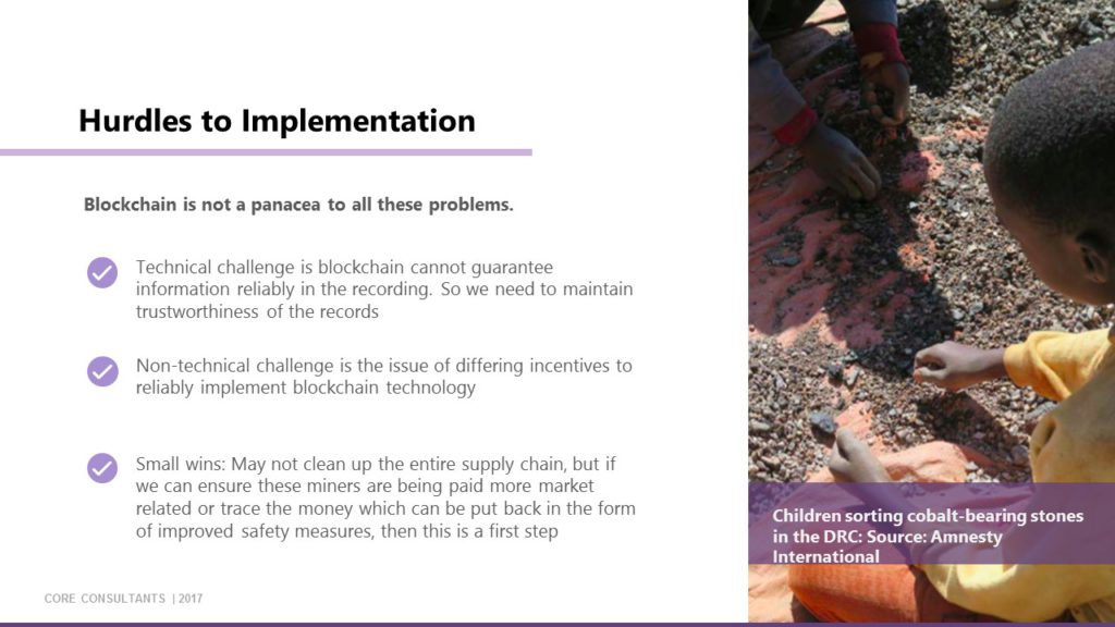 Slide 16: Hurdles to Implementation