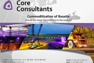 March 2017 Presentation: The Commoditisation of Bauxite