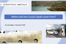 Where is Cobalt Going to Come From?