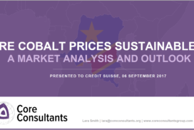 Are Cobalt Prices Sustainable